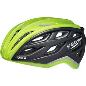 KED Xant - Casco de bicicleta - verde/negro